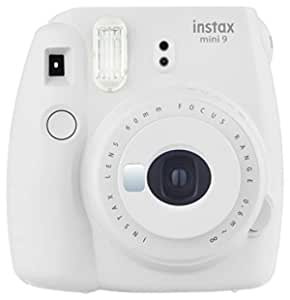 Fujifilm Instax Mini 9 InstantCamera (Smokey White)