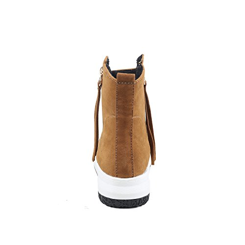 BalaMasa  Abl09601, Sandales Compensées femme Marron