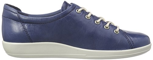 Ecco Damen Soft 2.0 Derby Blau (DENIMBLUE 1086)