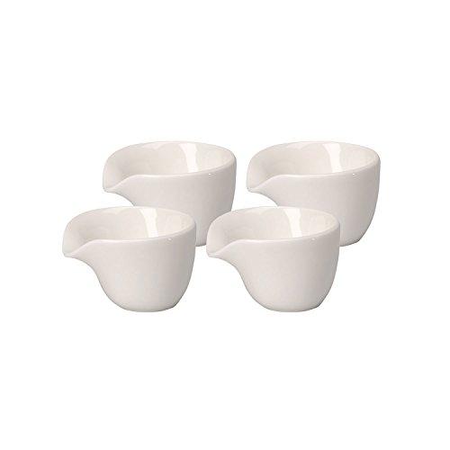 Villeroy & Boch Soup Passion Coupelle à garniture, Lot de 4, Porcelaine Premium, Blanc