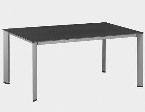 Table design intérieur extérieur Loft Piètement anthracite