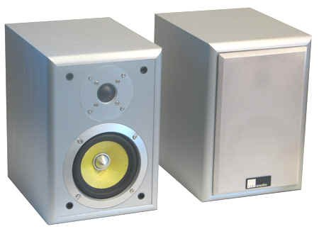 Pure Acoustics Regallautsprecher MAC 500 Silber (Paar)