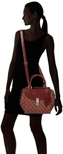 Guess Damen Hwsp6786060 Shopper, 10.5x18x24 cm Rot (Bordeaux)