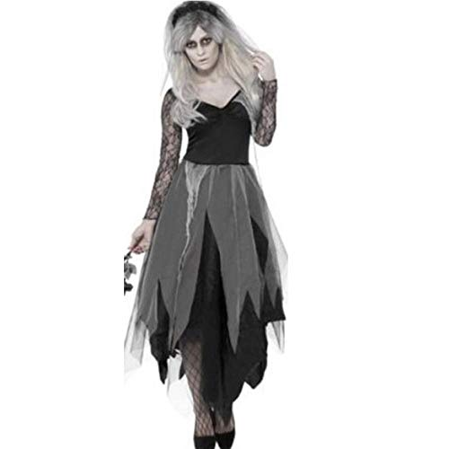 Tanz Und Uniformen Kostüm - JRKJ Halloween Kostüm Dame Rolle Spielen Dunkle Vampir Braut Tanz Performance Uniform @ L