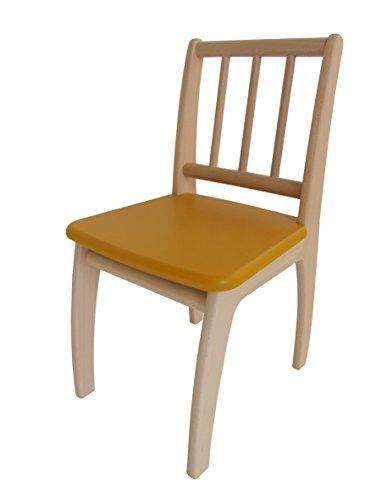 Geuther - Stuhl passend zu Sitzgruppe Bambino, natur-gelb