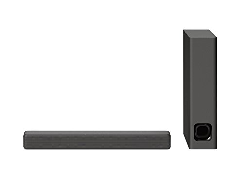 Sony HT-MT300 kompakte Soundbar (100W, kabelloser Subwoofer, Bluetooth, NFC, USB) Anthrazit - Sony 50 Tv Led