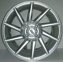 2x Alloy Wheels 1022 RIGHT Style 15X7.0 Hyper / Silver for sale  Delivered anywhere in UK