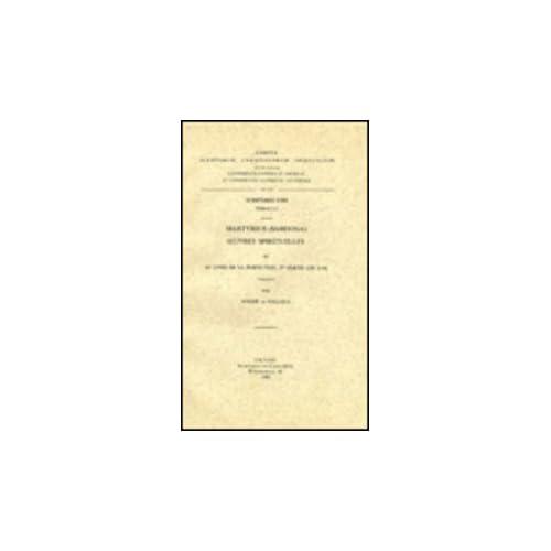 Martyrius Sahdona. Oeuvres Spirituelles, III. Livre De La Perfection, 2e Partie Ch. 8-14. Syr. 111.