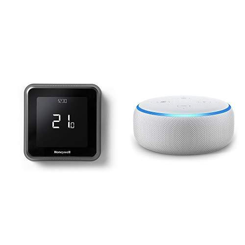 Echo Dot gris claro - Termostato programable inteligente con Wifi cableado