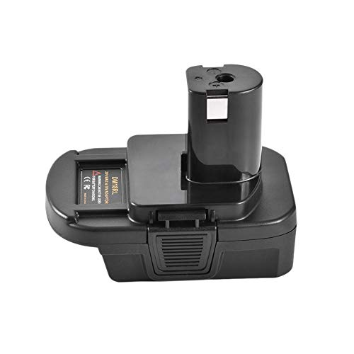 Class-Z DM18RL Batteriekonverter-Akku Adapter,18V / 20V Lithium-Batterie konvertieren zu Nickel Bohrmaschine und Ladegerät Werkzeuge Adapter für Dewalt Batterien mit USB Anschluss - 20 Dewalt Usb Volt