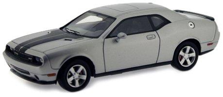 modellino-auto-dodge-challenger-srt8-2009-silver-scala-143-premiumx