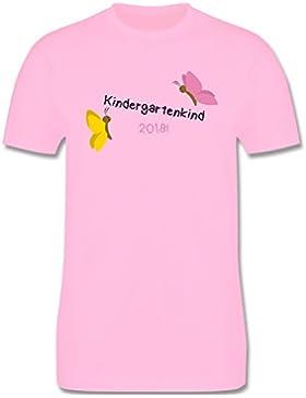 Kindergarten - Kindergartenkind 2018 Schmetterlinge - Kinder T-Shirt