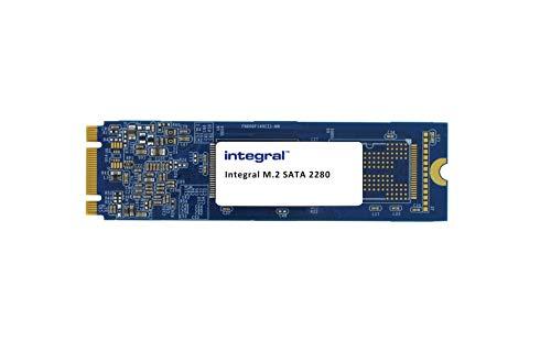 Integral Memory SSD 128 GB M.2 2280 SATA III de Alta Velocidad 6 Gbps hasta 500 MB/S de Lectura y 470 MB/S en Escritura,