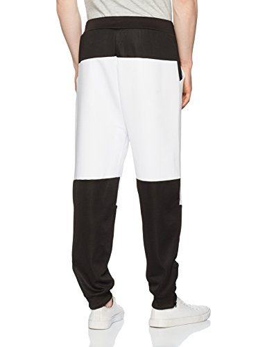 Star Wars Episode 7 - The Force Awakens - First Order - Stormtrooper - FN-2187 Pantaloni jogging nero/bianco Nero/Bianco