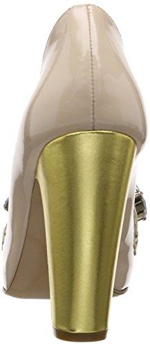Moschino CA1018BC0JCJ160A, Escarpins femme Or (Nude/Gold)