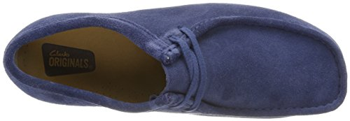 Clarks Originals Herren Wallabee schlupfschuhe Blau (Night Blue)