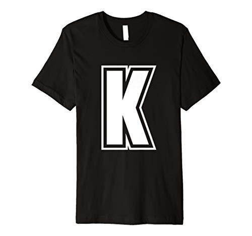 Buchstabe K Alphabet T-Shirt ()