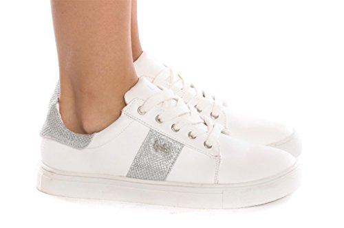 Les P'tites Bombes, Damen Sneaker Weiß