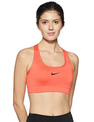 Nike Women's Seamless Sports Bra (375833-816_Rshcrl/Black_36D)