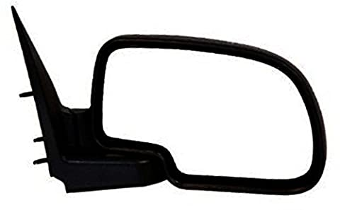 1999-2006 Chevrolet/Chevy Silverado 1500 2500 Pickup Truck, Suburban, Tahoe GMC Sierra, Yukon Manual Folding Black Textured Rear View Mirror Right Passenger Side (1999 99 2000 00 2001 01 2002 02 2003 03 2004 04 2005 05 2006 06) by Aftermarket Auto