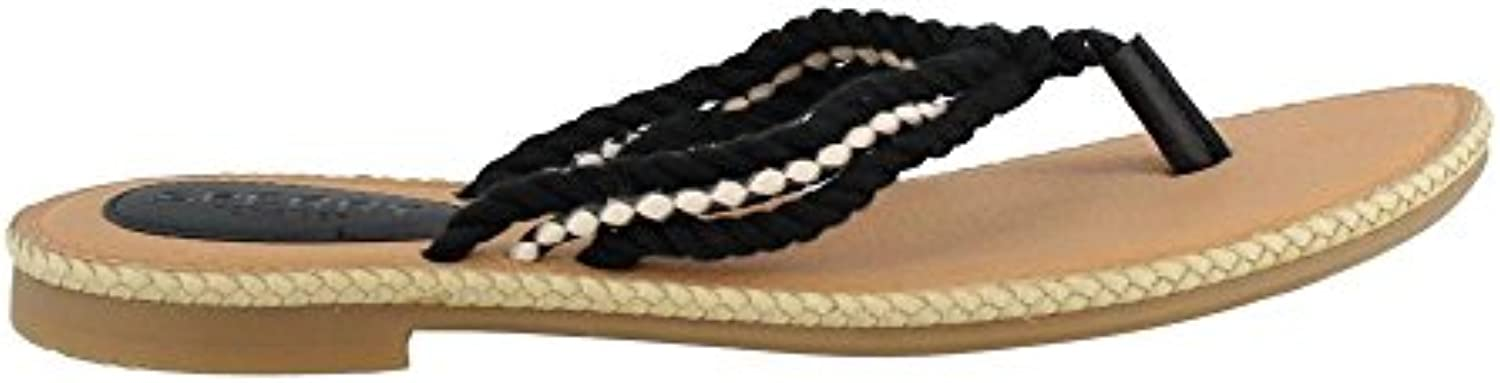 Sperry Wouomo Anchor Coy Coy Coy (Boxed) Flat Sandal, nero, 11 M US | Commercio All'ingrosso