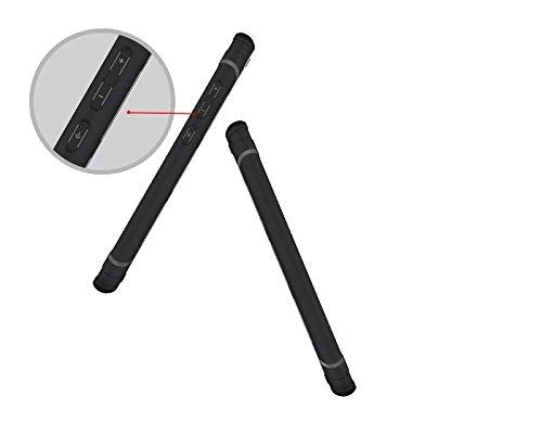 YHUISEN Cool Shockproof Rüstung Hybrid 2 In1 TPU und PC Robuste Dual Layer mit Kickstand Case für Huawei P8 Lite 2017 / Honor 8 Lite ( Color : Black ) White