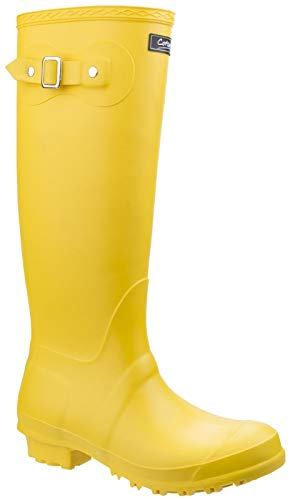 Cotswold Sandringham Womens Synthetic Material Wellies Black