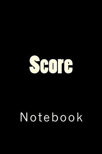 Score: Notebook