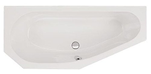 Aqualuxbad Badewanne-Acryl   170x75cm, Ausführung:rechts