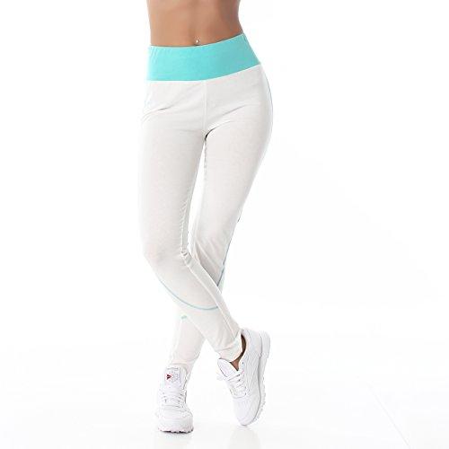 Jela London - Leggings Femme Weiß