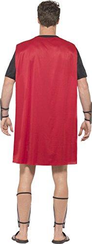 Imagen de smiffy's–disfraz de gladiador romano para hombres, talla s alternativa