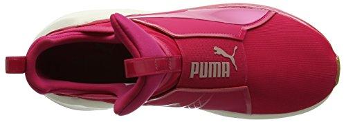 Puma Damen Fierce VR Hallenschuhe Pink (Love Potion-Whisper White)