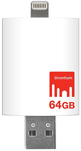 Strontium Nitro iDrive 3.0 OTG Pendrive for iOS 64 GB Utility Pendrive  available at amazon for Rs.3999