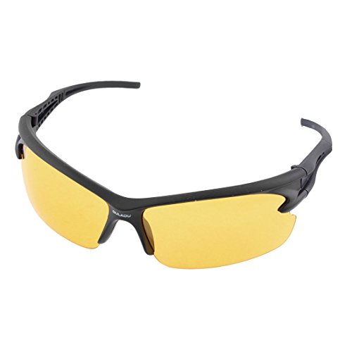 ASVP Shop® - Lunettes de vision nocturne anti-reflet pour conduite et pêche - Jaune - Taille unique Uo0YbF5G
