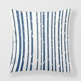 Yourway Cushion Pillow For Sofa Birch Trees Custom Cushion Cover