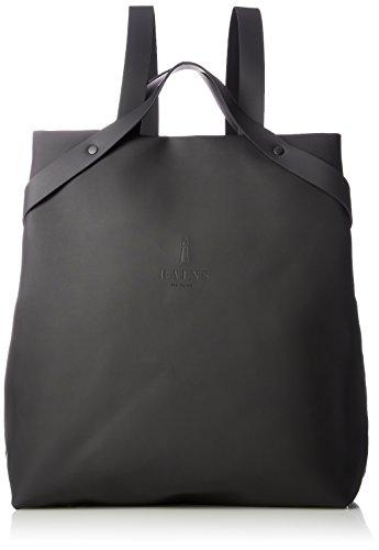 Rains shift bag, zaino unisex-adulto, nero (black), 32.0x36.0x12.0 cm (w x h x l)