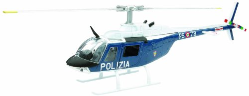 Agusta Bell 206 Polizia Helicopter 1:43 Model 25743