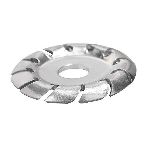 ROEAM Multifunktionale Holzschnitzscheibe, mit hoher Härte 12 Zähne 16 mm Bohrung 65 mm Durchmesser Holzform-Winkelschleifer Holzbearbeitungswerkzeug