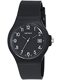 M-WATCH Core 37 Analog Black Dial Unisex's Watch-WYA.37220.RB