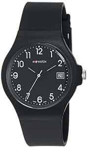 M-WATCH Core 37 Analog Black Dial Unisex's Watch-WYA.37220.RB