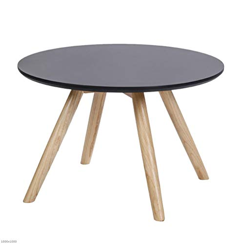 Tx zhaorui divano tavolino tavolo rotondo in legno tondo tavolino angolo tavolo rotondo piccolo tavolino,gray