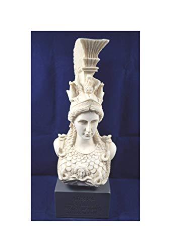 Estia Creations Athena Skulptur Statue Minerva Antiken Griechischen Göttin Brustumfang