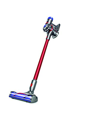 Dyson Staubsauger V8, Rot, 124,6 x 25 x 22,2 cm (Dyson Rot Staubsauger)