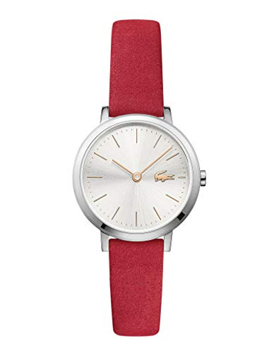 Lacoste Womens Analogue Classic Quartz Watch with Leather Strap 2001048