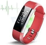 Fitness Tracker von Torus Pro | Smart Watch, Fitness Watch, Herren Uhr, Gewicht Verlust | Get Passform und STAY FIT |heart Rate Monitor, Schrittzähler, Uhr, Sleep Monitor, Sleep Tracker, Activity Tracker, Fitness, Bluetooth, Kalorienzähler, Handgelenk Herzfrequenz Monitor, Fit Bit, DIGITAL UHR, Best Herzfrequenz Monitor, SMS und Call Reminder Plus Sleep Überwachung, Wireless Telefon App, lange Akku-Leben abhängig von Einsatzzweck, Herzfrequenz Armband kompatibel mit iOS und Android | Outdoor Smart Watch für Männer und Frauen