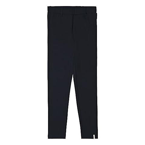 ESPRIT Mädchen Slim Fit Hose RK23055, Einfarbig, Gr. 128 (Herstellergröße: XS), Blau (Navy 490)