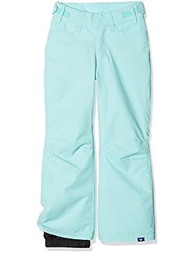 Roxy Backyard Girl Pt Pantalones para Nieve, Niñas, Azul (Aruba Blue Solid), 14/XL