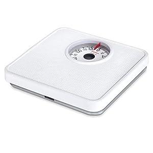 Soehnle 61098 – Báscula de baño analógica»Tempo», blanco