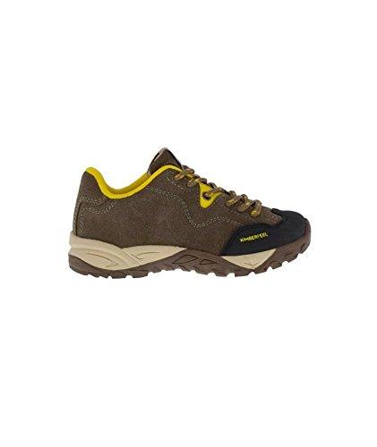 KIMBERFEEL Chaussures Trekking Outdoor Mixte 35 Marron