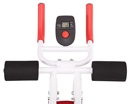SportPlus AB Plank Bauchtrainer mit Trainingscomputer, zusammenklappbar, SP-ALB-011 - 3